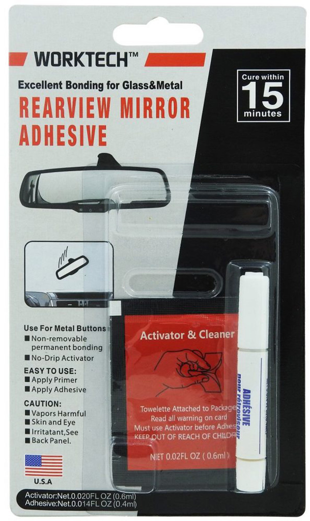WT 140 Professional Grade Rearview Mirror Adhesive