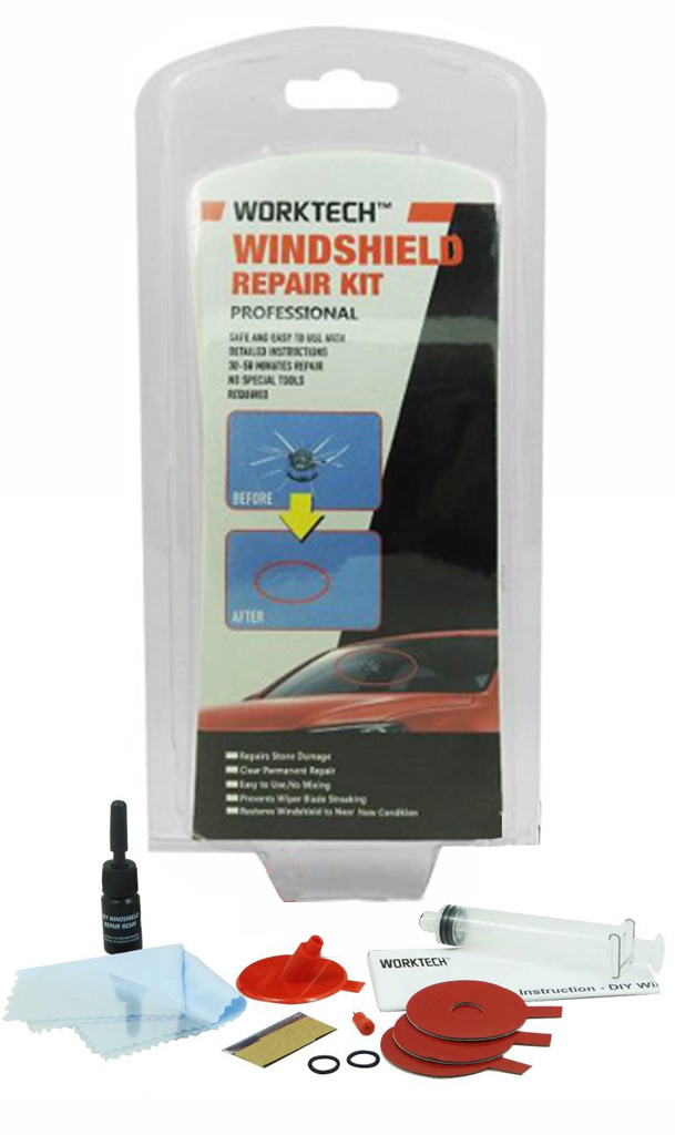 WT 220 Professional Windshield Repair Kit